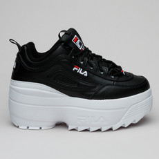 Fila Disruptor II Wedge Wmn Blk/Wht/Red