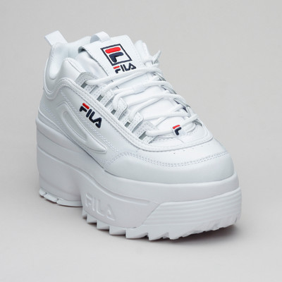 Fila Disruptor II Wedge Wmn Wht/Navy/Red