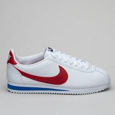 Nike Wmns Classic Cortez Lthr White/Red