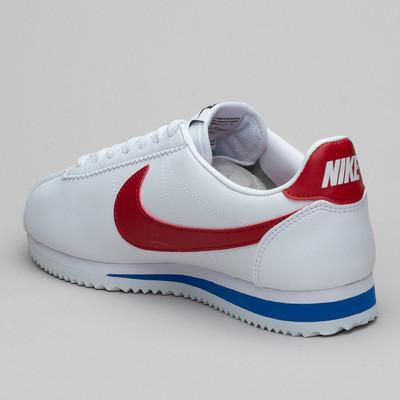 Nike Wmns Classic Cortez Lthr White/Red