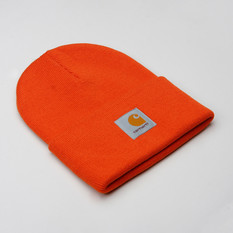 Carhartt Watch Hat Orange Brick