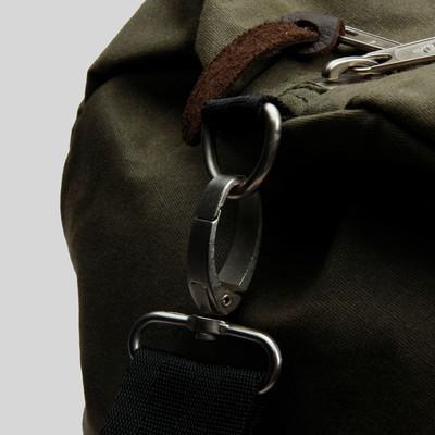 Poler Bag Duffle Waxed Olive