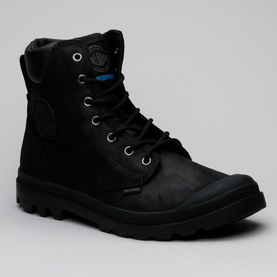 Palladium Pampa Cuff Wp Lux Black/Black