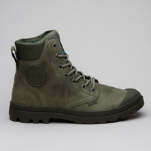 Palladium Pampa Cuff Wp Lux Olive Night