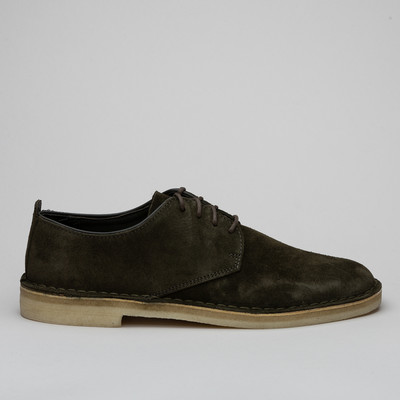 Clarks Desert London Dark Green