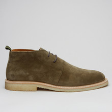 Playboy City Chukka Olive Suede
