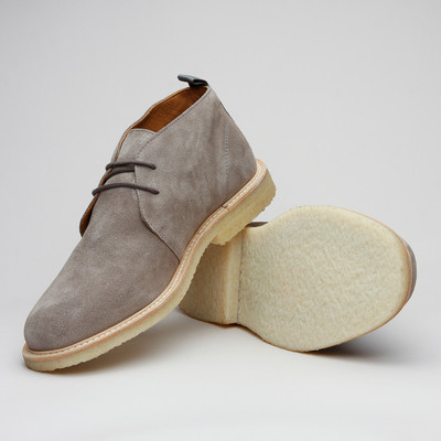 Playboy City Chukka Taupe Suede