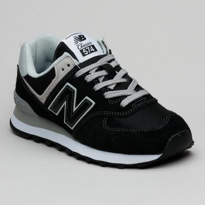 New Balance WL574EB Black/White
