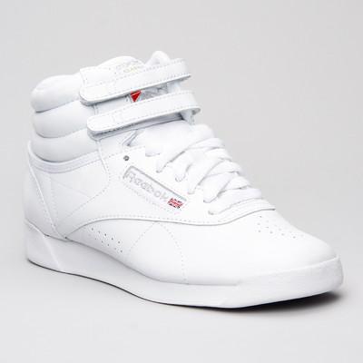 Reebok Freestyle Hi White
