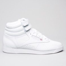 Reebok Freestyle Hi White
