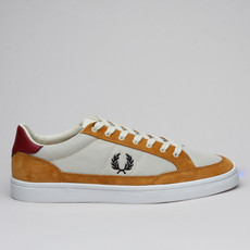 Fred Perry Deuce Mesh Suede Tapioca