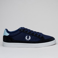Fred Perry Deuce Mesh Suede Navy