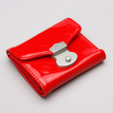 Fred Perry Polka Dot Purse Fire Red