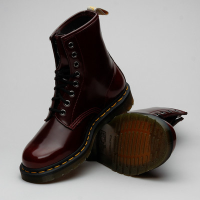 Dr Martens 1460 Vegan Cherry Red