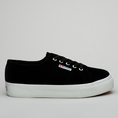 Superga 2730 Velvetchenillew Black