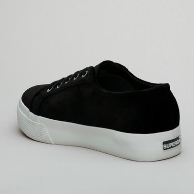Superga 2730 Velvetchenillew Black