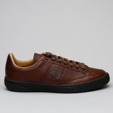 Fred Perry B3 Lthr Cappuccino