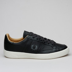 Fred Perry B3 Lthr Black