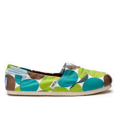 Toms Classic Canvas Big Pink Dots