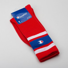 Champion Crew Socks Red