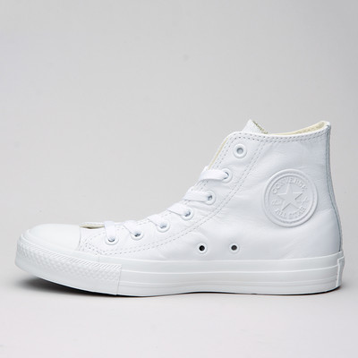 Converse All Star Hi Mono Leather White