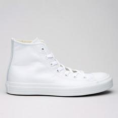 Converse All Star Hi Mono Leather White