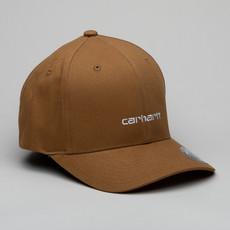 Carhartt Cap Script Hbrown/White