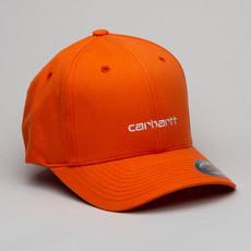 Carhartt Cap Script Pepper/White