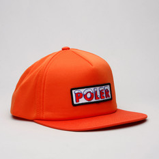 Poler Cap Ice Trucker Burnt Orange