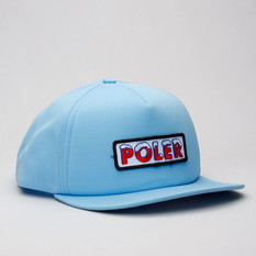 Poler Cap Ice Trucker Cloud Blue