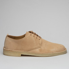 Clarks Desert London Suede Light Tan