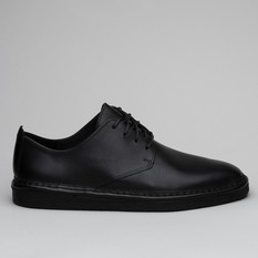 Clarks Walbridge Lace Black Leather