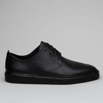Clarks Walbridge Lace Black Leather