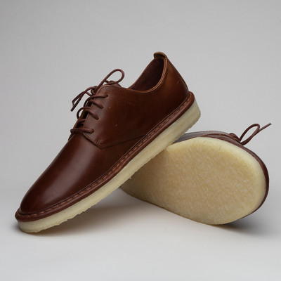 Clarks Walbridge Lace Brown Leather