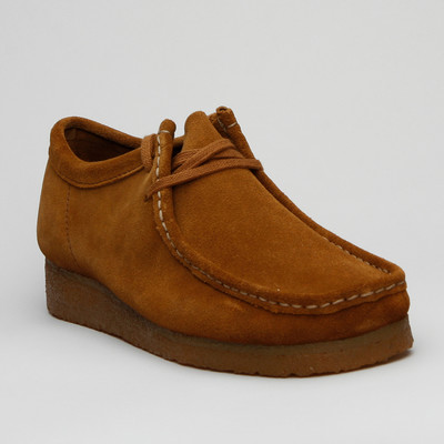 Clarks Wallabee Cola Suede