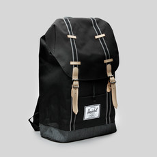 Herschel Bagpack Retreat Black/Denim