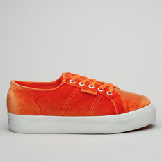 Superga 2730 Velvet Chenillew Orange