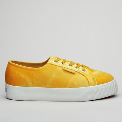Superga 2730 Velvet Chenillew Yellow