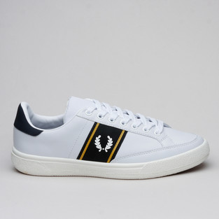 Fred Perry B3 Lthr White