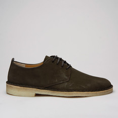 Clarks Desert London Suede Peat