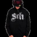 Goth Band Fleece Zip