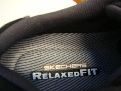 Herr-promenadskor med Relaxed Fit-botten, Skechers