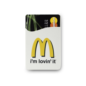 Visar översättning av McDonald's korthållare Översätt istället från McDonald´s korthållare McDonald'sin kortin haltijat