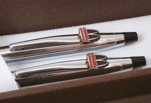 Cross pen set in chrómé