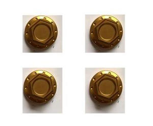 Domed nuts shock absorbers CNC many colours