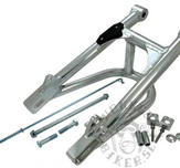 Alloy Swing arm tube profile with brace+10cm