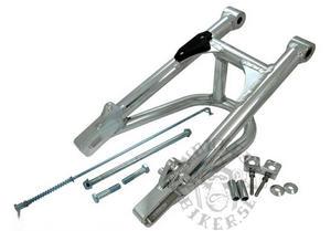 Aluminium svingarm rörprofil extra förstärkt  +4cm