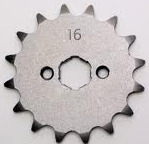 Front sprocket 18T 428 chain