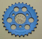 Rear sprocket Monkey Clipping Point alloy