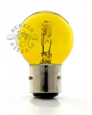 6v BA21D bulb headlight 25W/25W